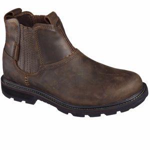 Skechers Blaine Orsen Slip On Ankle Boots